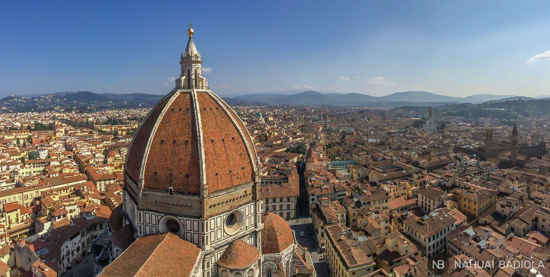 Vistas desde el campanario-Duomo-Florencia