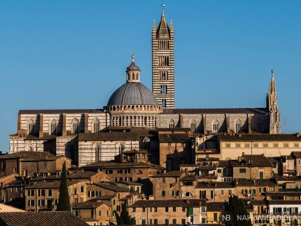 Duomo Siena desde Le Chiarine