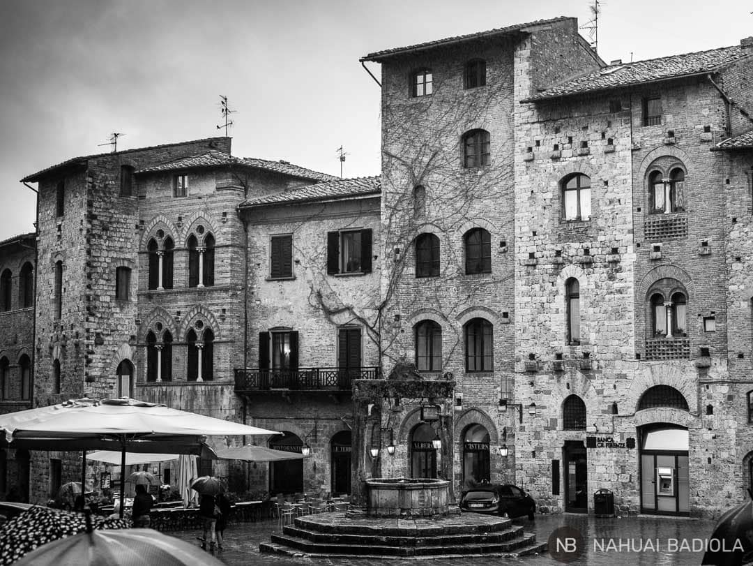 Fachadas San Gimignano-Provincia Siena