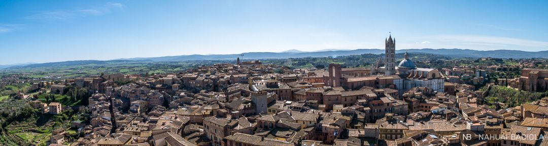 Panoramica Siena desde Torre de Mangia