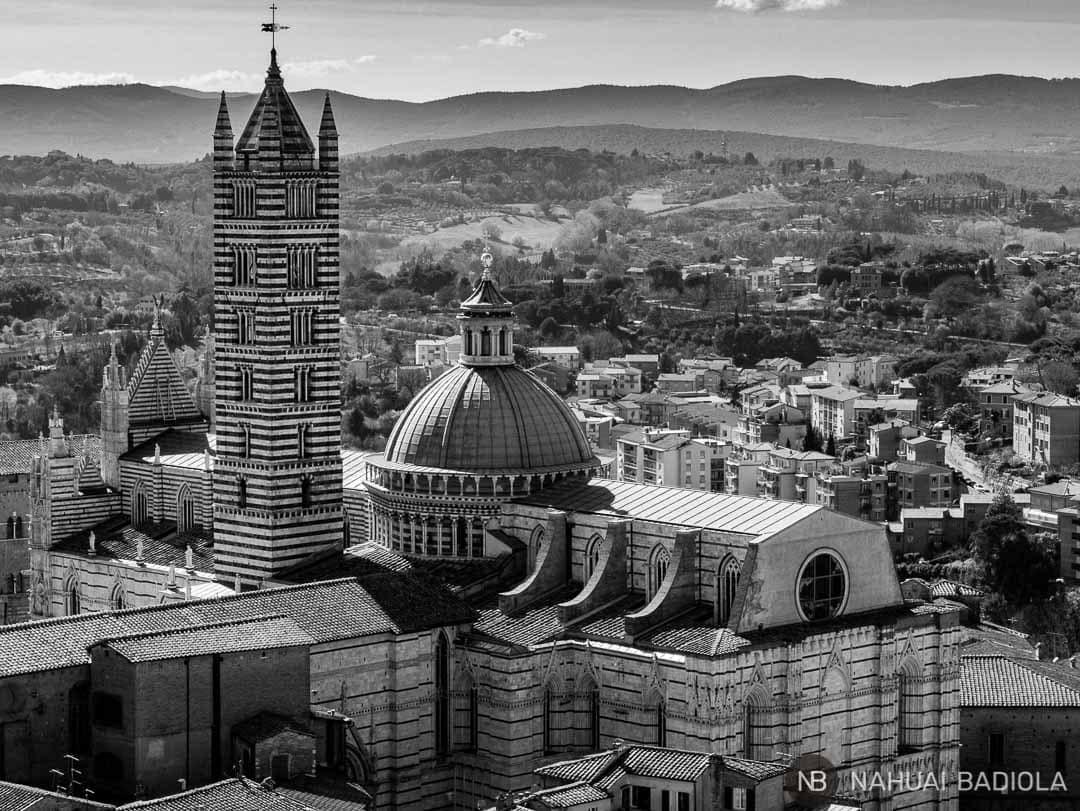 Vistas Duomo Siena desde Torre de Mangia