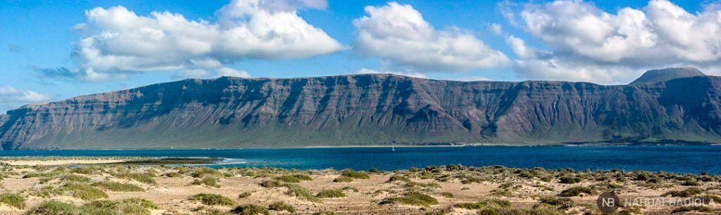Lanzarote desde la Graciosa