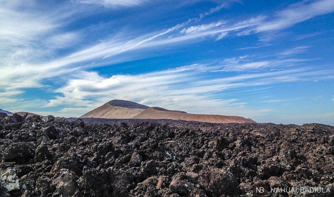 Volcan Caldera Blanca, Lanzarote