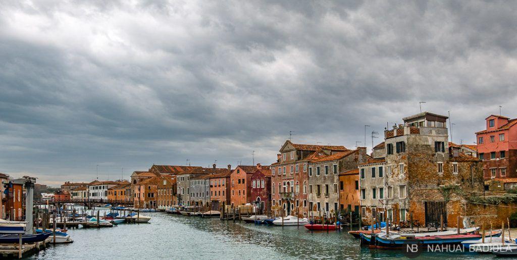 Canal de Castello, Venecia, Italia.