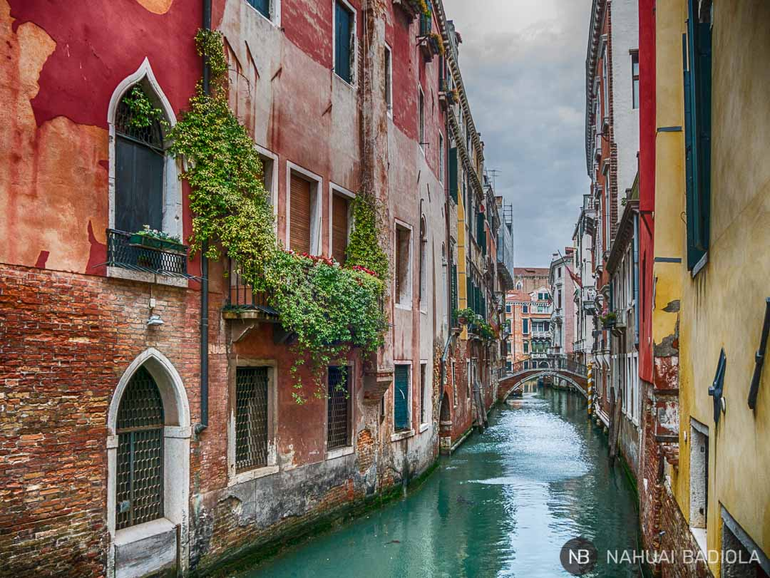 Canal perdido en Castello, Venecia