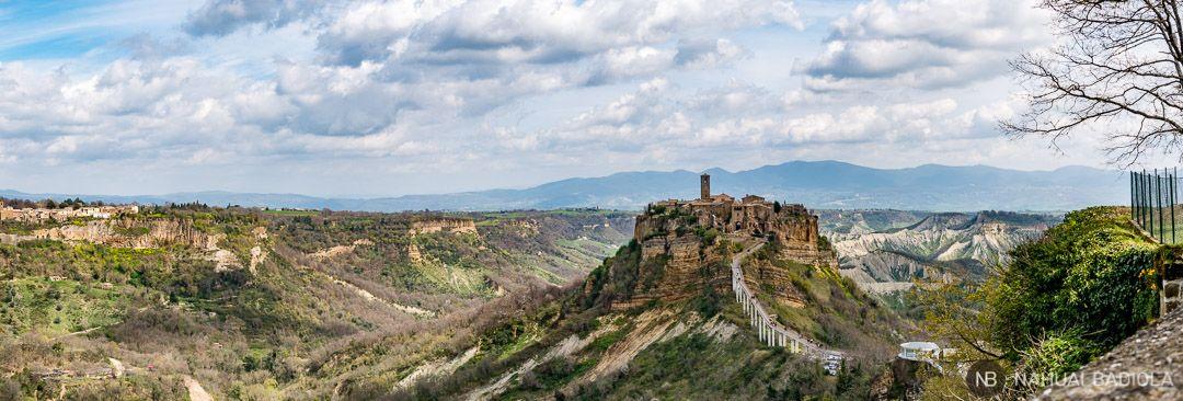 Vistas de la ciudad que muere, Italia