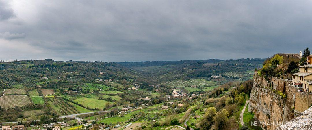 Paisaje de Umbria, desde Orvieto