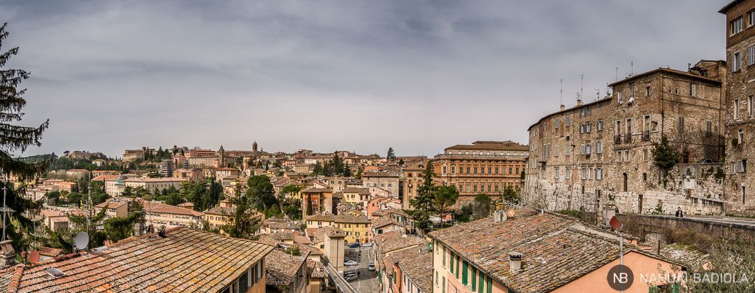 Perugia, ciudad medieval