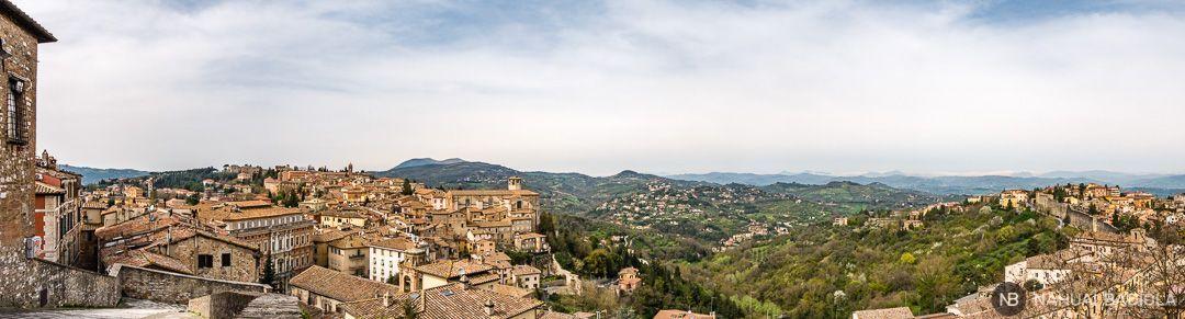 Perugia y alrededores, Umbria, Italia