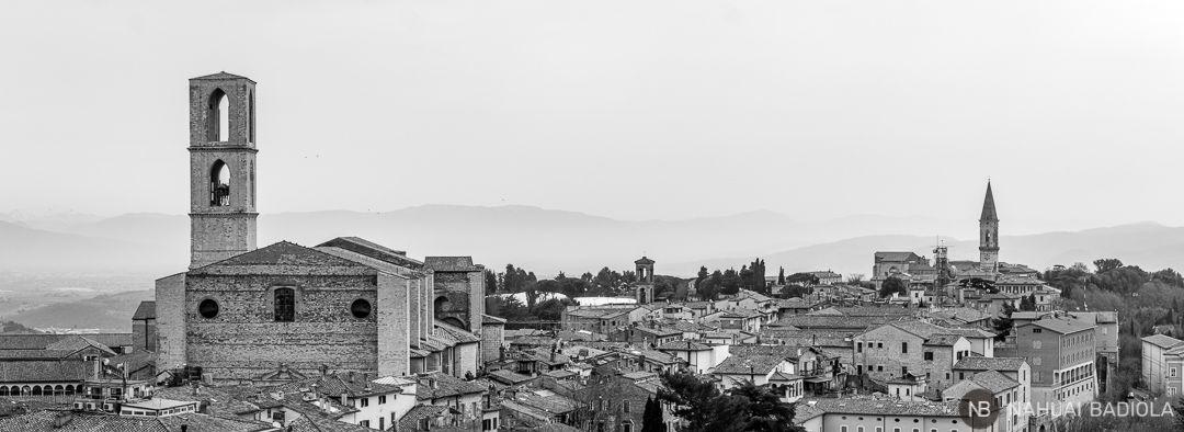 Panoramica de Perugia