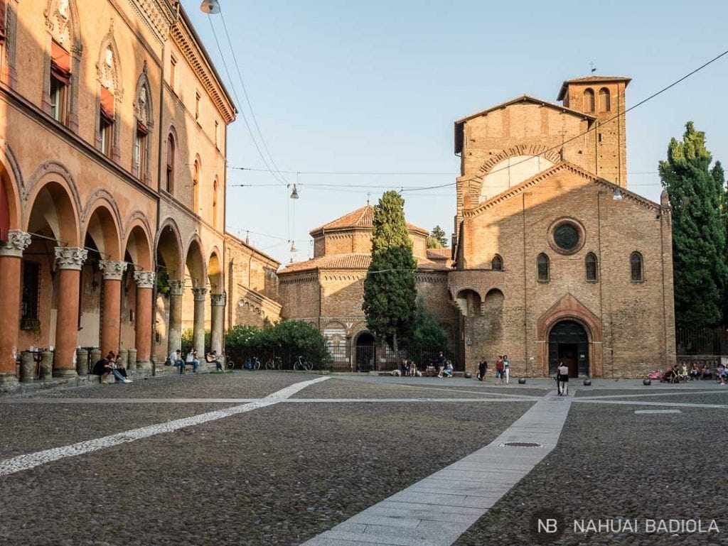 Iglesia de Santo Stefano, Bolonia, Italia