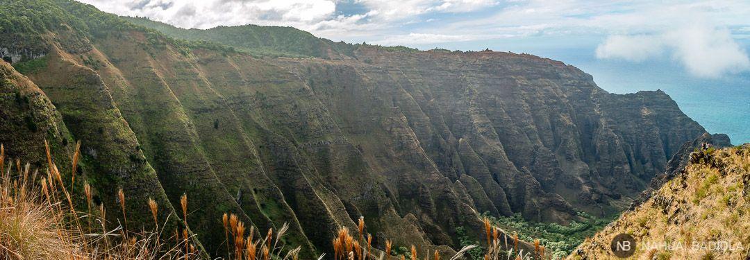 Vistas desde el mirador de Awaawapuhi Trail