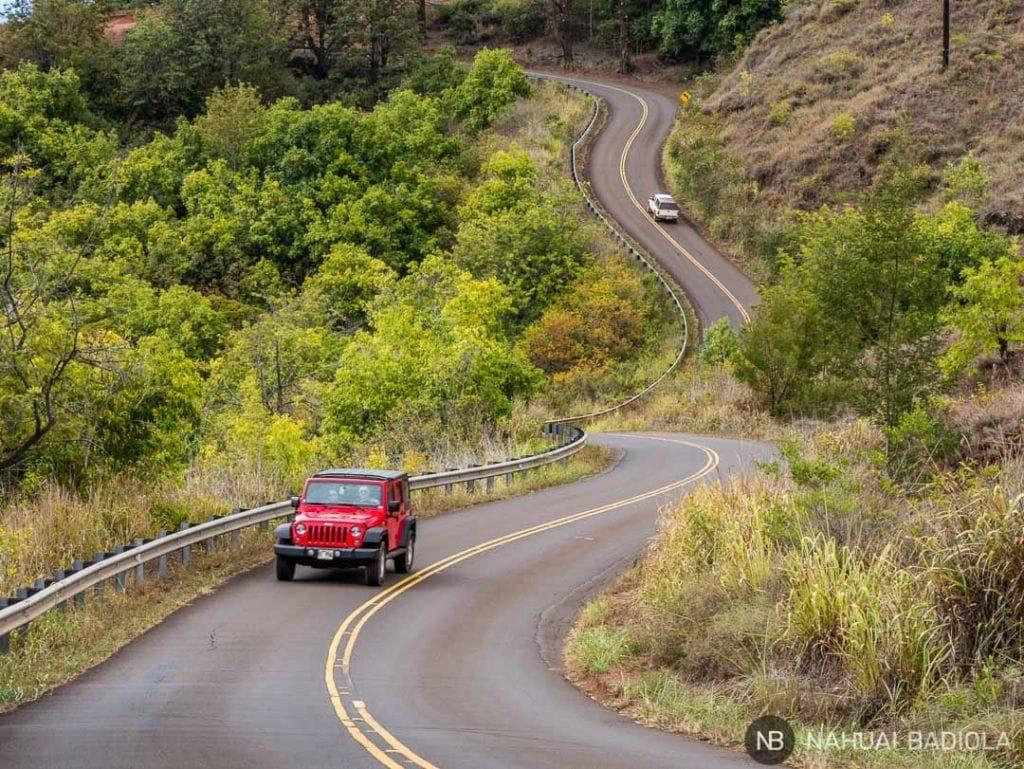 Kokee road, Kauai Hawaii