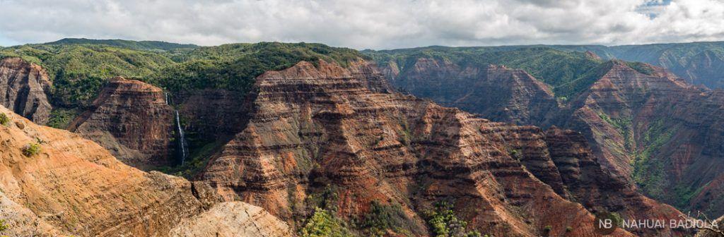 Cataratas en Waimea Canyon Kauai