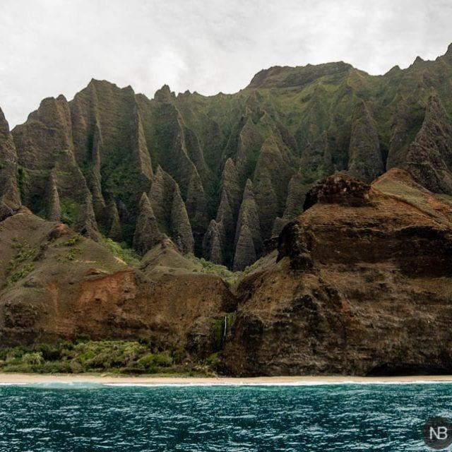 Kalalau playa Kauai Hawaii