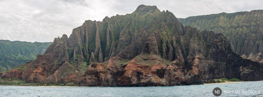 Costa Napali Kalalau Valley Hawaii Kauai