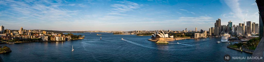 Sidney panorama from the Habour bridge