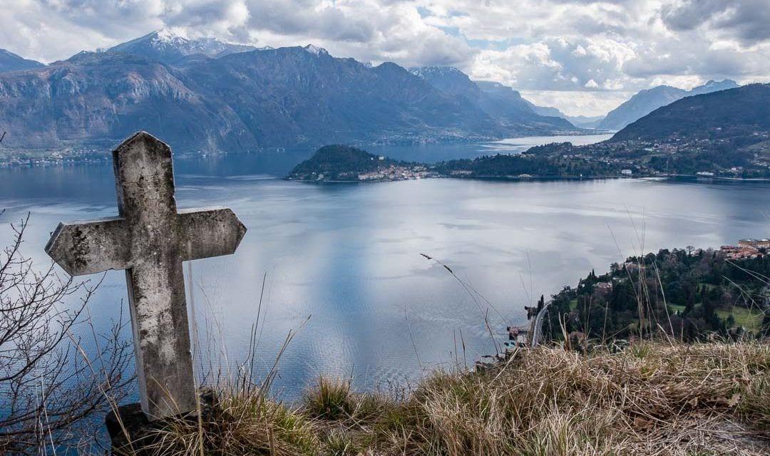 Vistas Bellagio desde la Iglesia San Martino Lago de Como