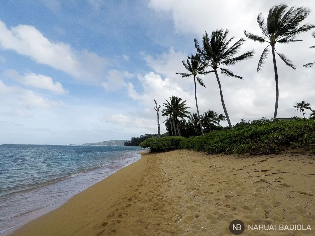 Anini Beach, en Kauai