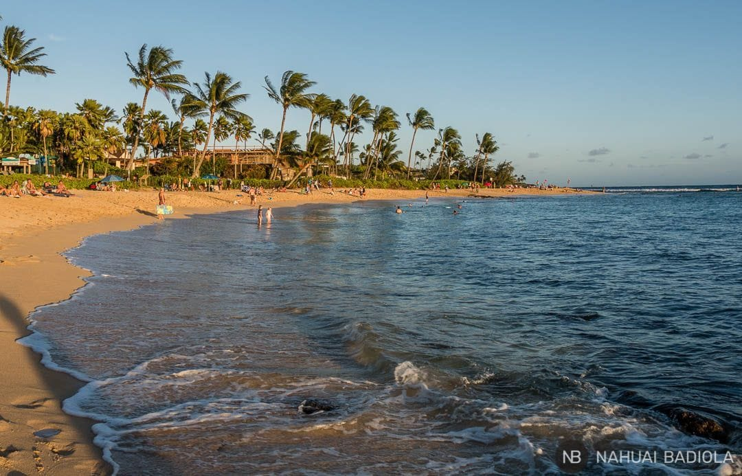 Playa de Poipu, Kauai