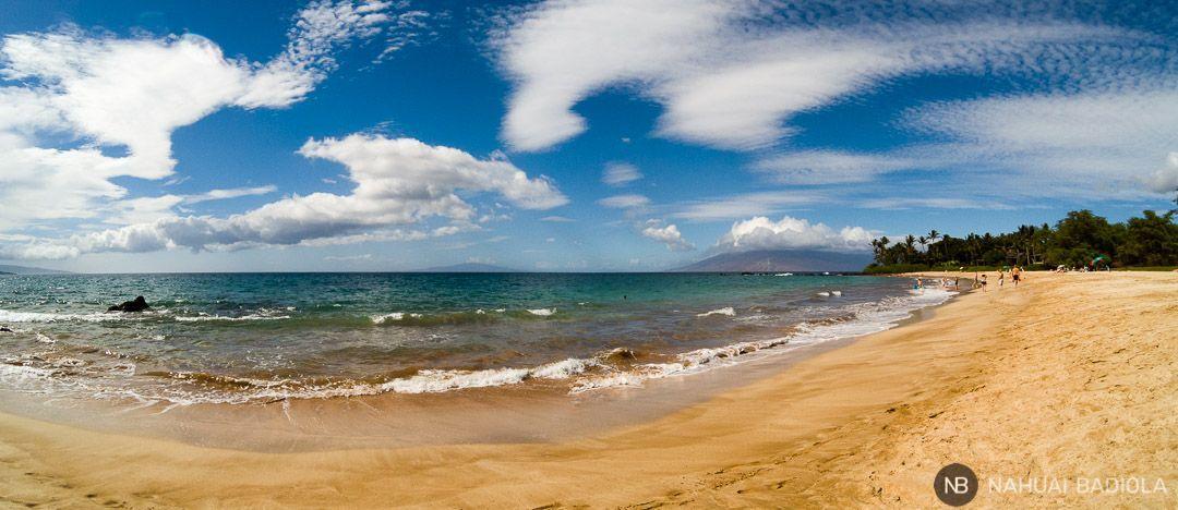 Panorámica de la playa Palauea, extremo norte, Maui, Hawaii