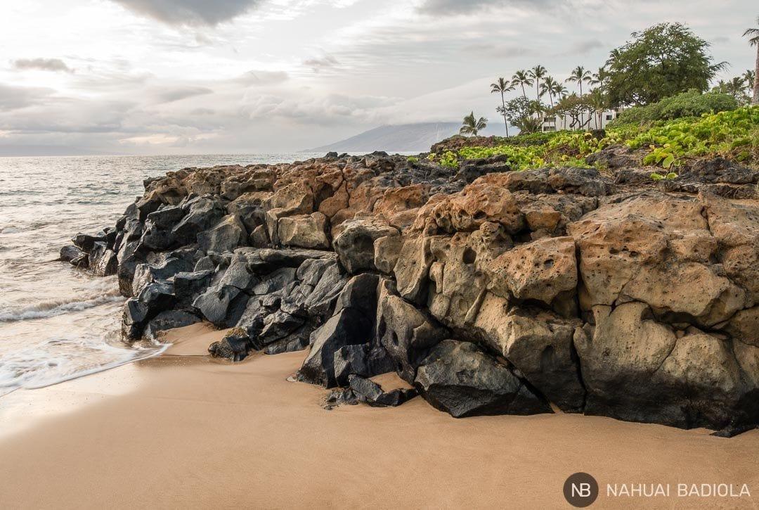 Extremo norte en Wailea Beach, Maui