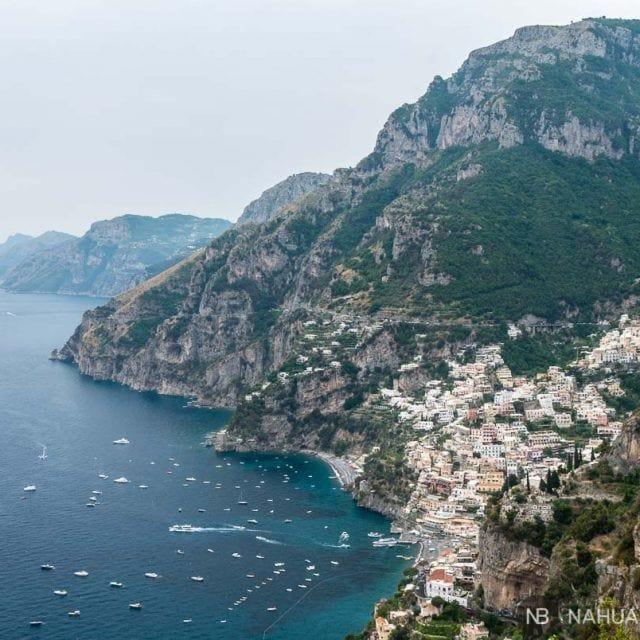 El sendero de los dioses: la Costa Amalfitana vista desde el cielo