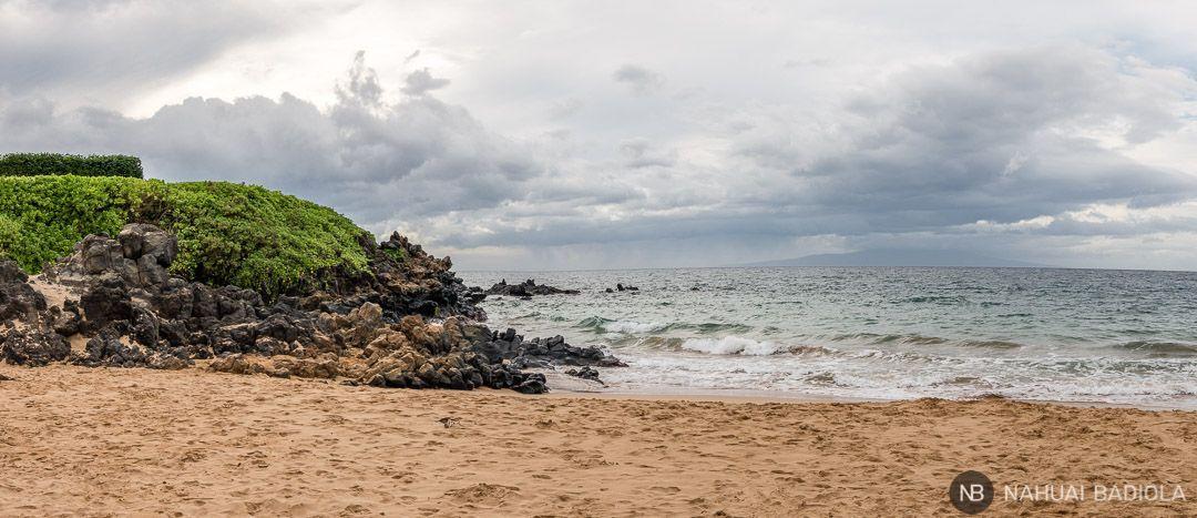 Panorámica del extremo sur de Wailea Beach, Maui