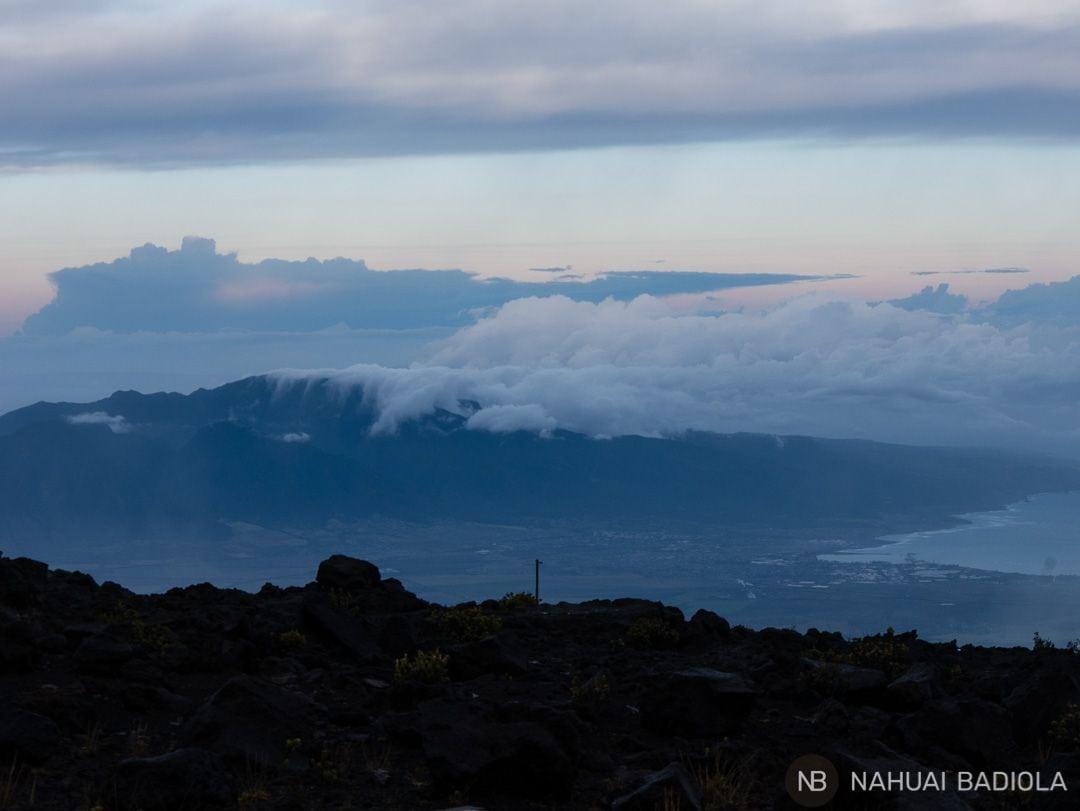 Y mientras tanto, hacia el otro lado de Haleakala.