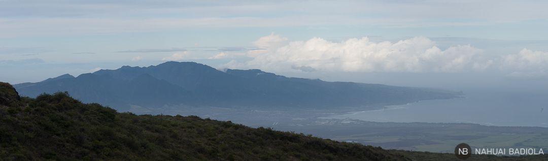 Vistas de Maui cuando desciendes del parque nacional de Haleakala