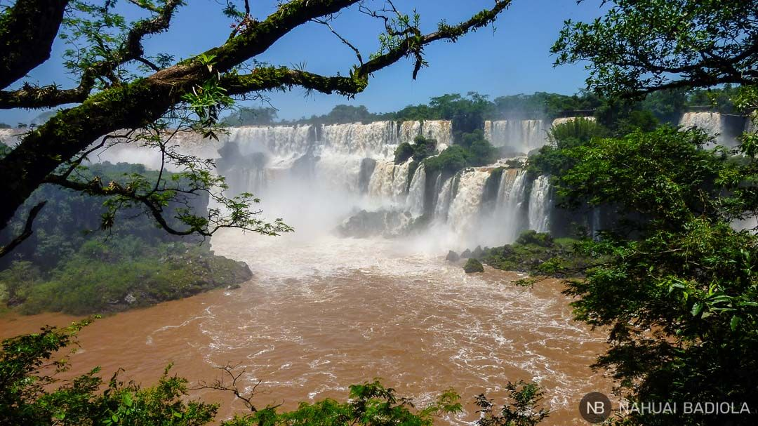 Cataratas de Iguazú, lado Argentino.
