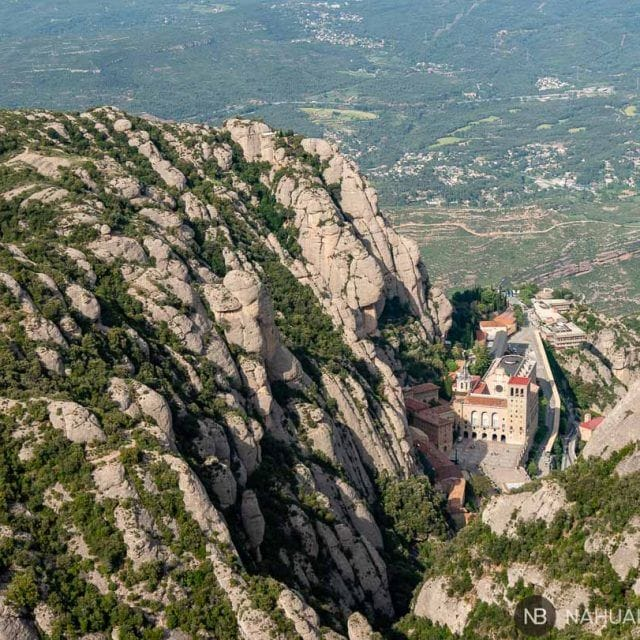 Ruta por Montserrat: funicular-Santa Magdalena-San Miquel-monasterio