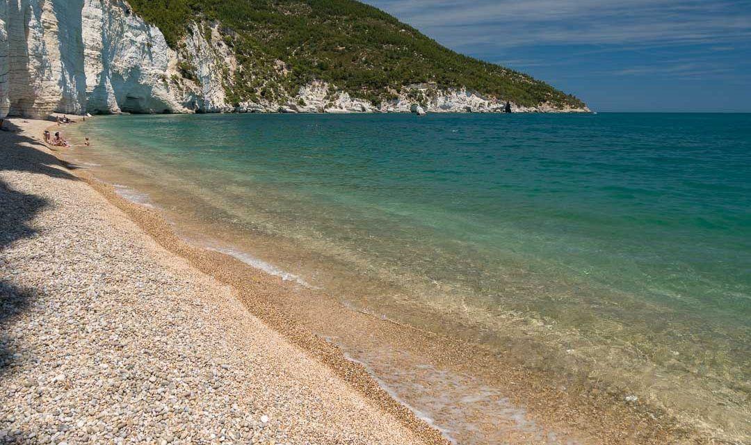 Playa Vignanotica, lado norte. Puglia.