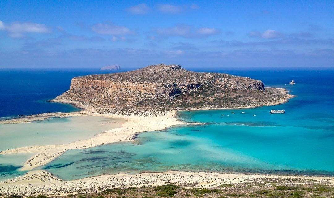 La isla de Balos, Creta.