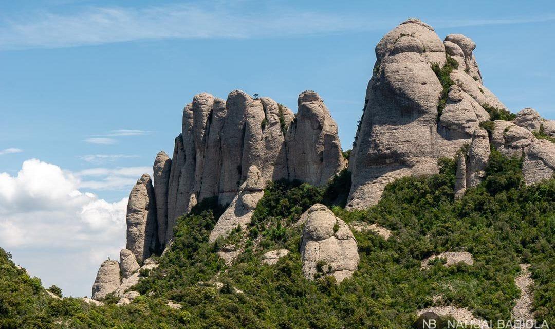 Agujas del macizo de Montserrat, Barcelona.