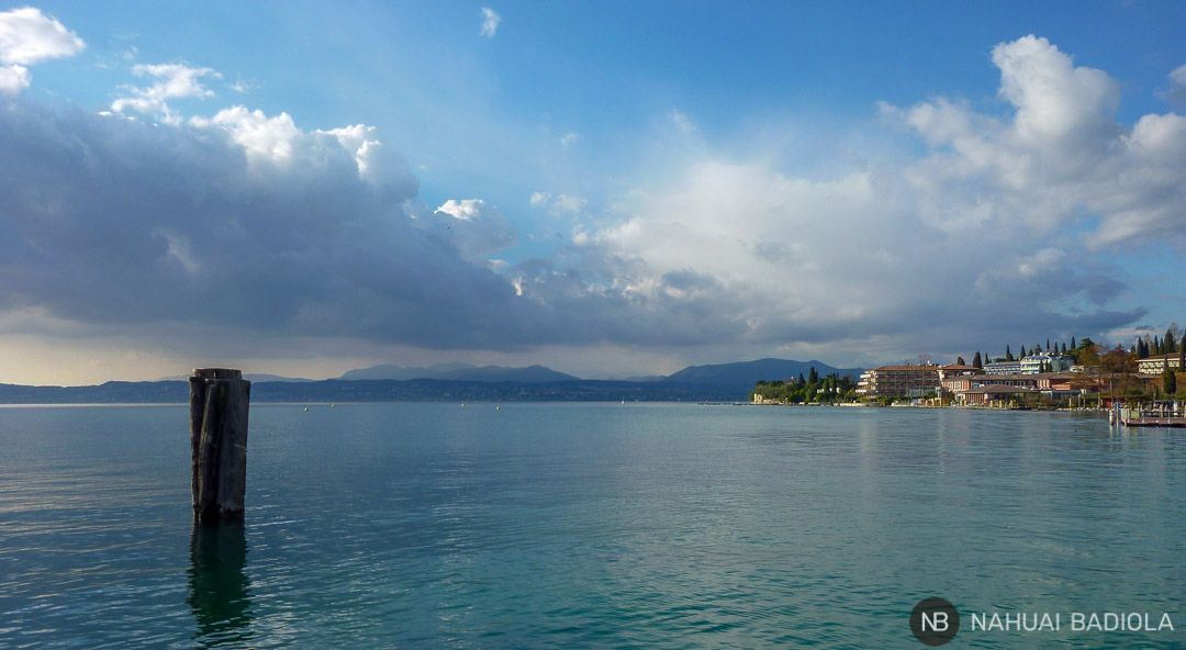 Alrededores de Sirmione junto al lago de Garda.