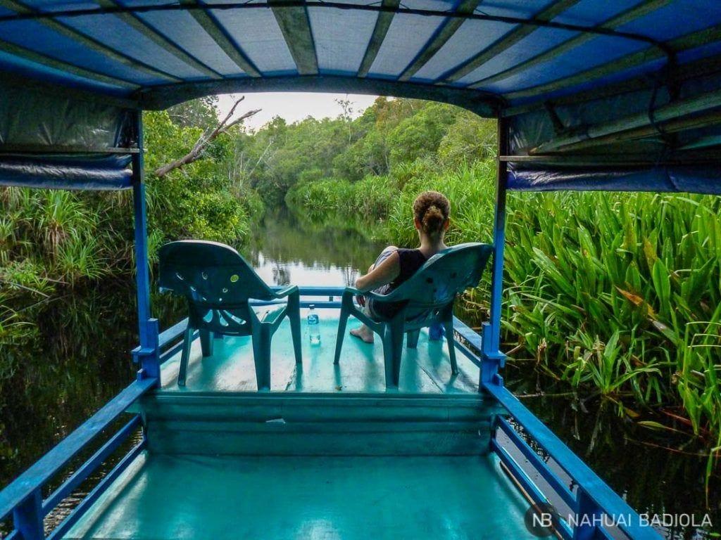 Viaje en klotok por Tangjung-Puting, Indonesia.