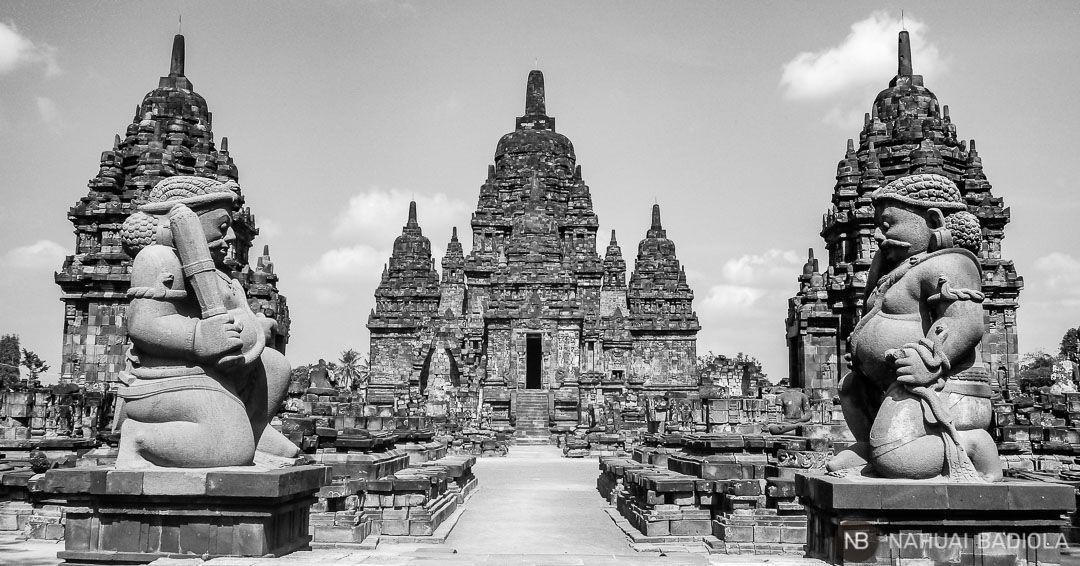 Templo budista de candi Sewu junto a Prambanan, Java.