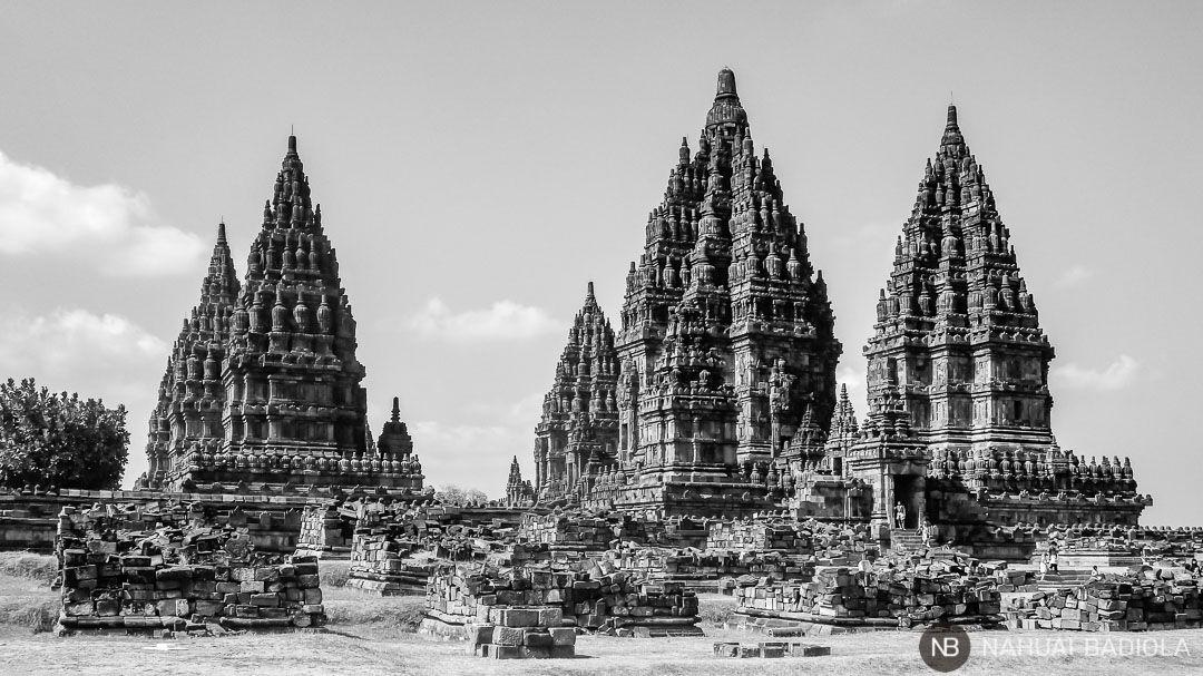 Templos de Prambanan en Indonesia