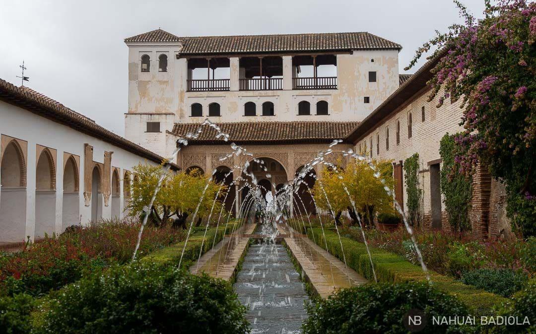 Patio del Generalife, Granada