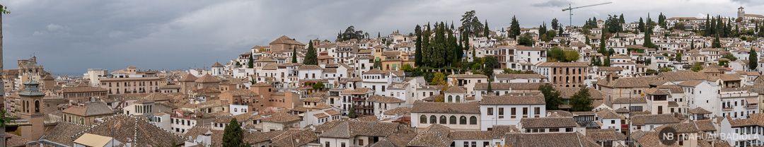 Mirador de la Churra en Granada con vistas al Albaicín.