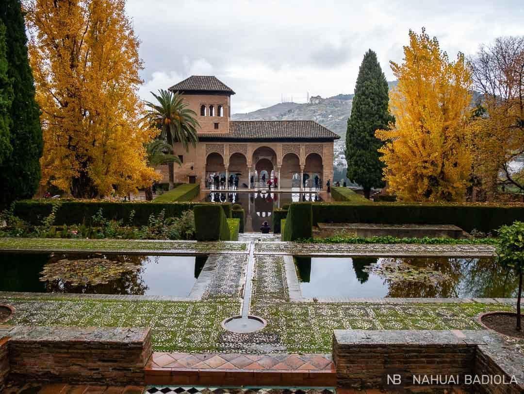El Partal de la Alhambra.