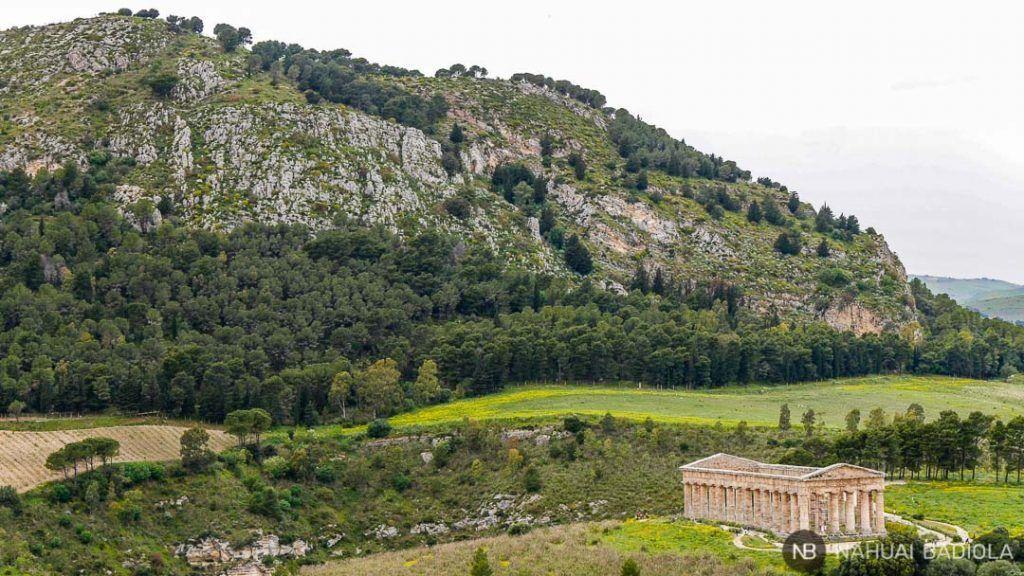 Templo de Segesta, Sicilia, Italia.
