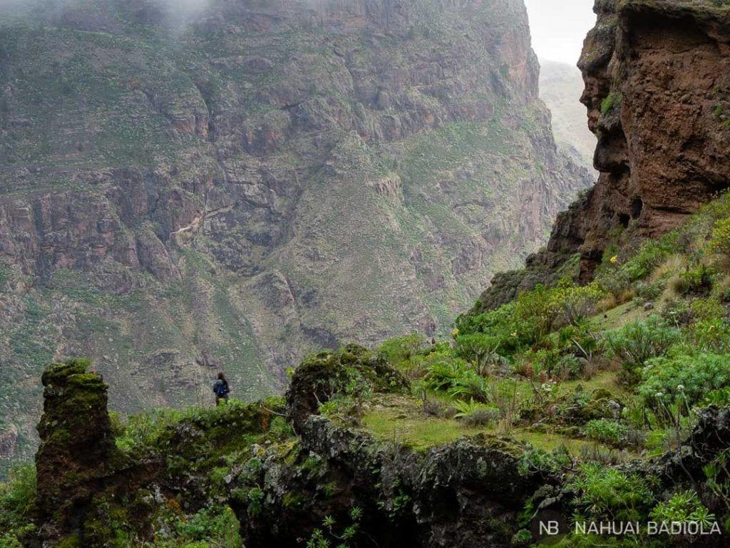 Ruta de senderismo Gran Canaria Barranco del Sao