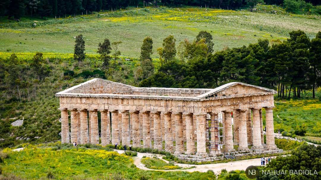 Templo inacabado de Segesta, Sicilia.