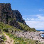 Trekking en Sicilia: dando la vuelta al monte Cofano