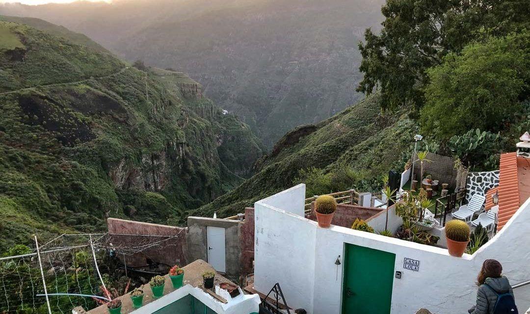 Las vistas desde Casa cueva Lola