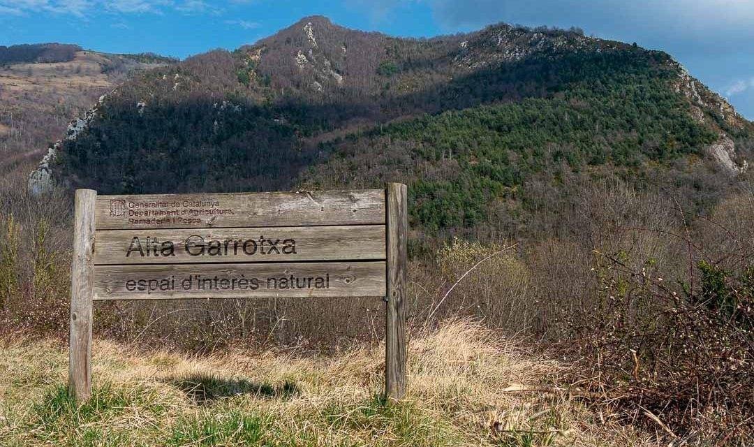Parque natural de la Alta Garrotxa, Cataluña.