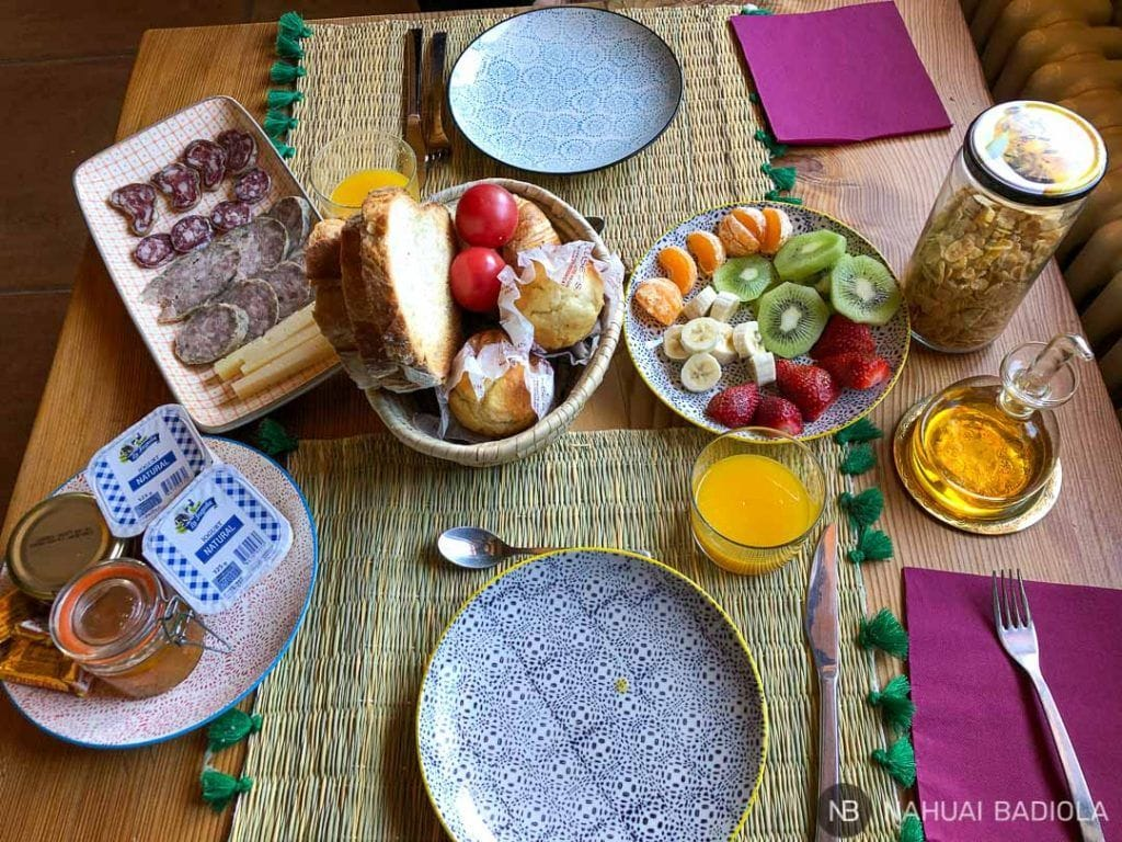 Desayuno en Mas del Puig