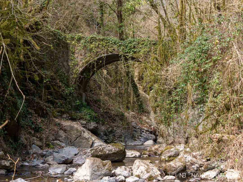 Sendero circular junto al río de Beget